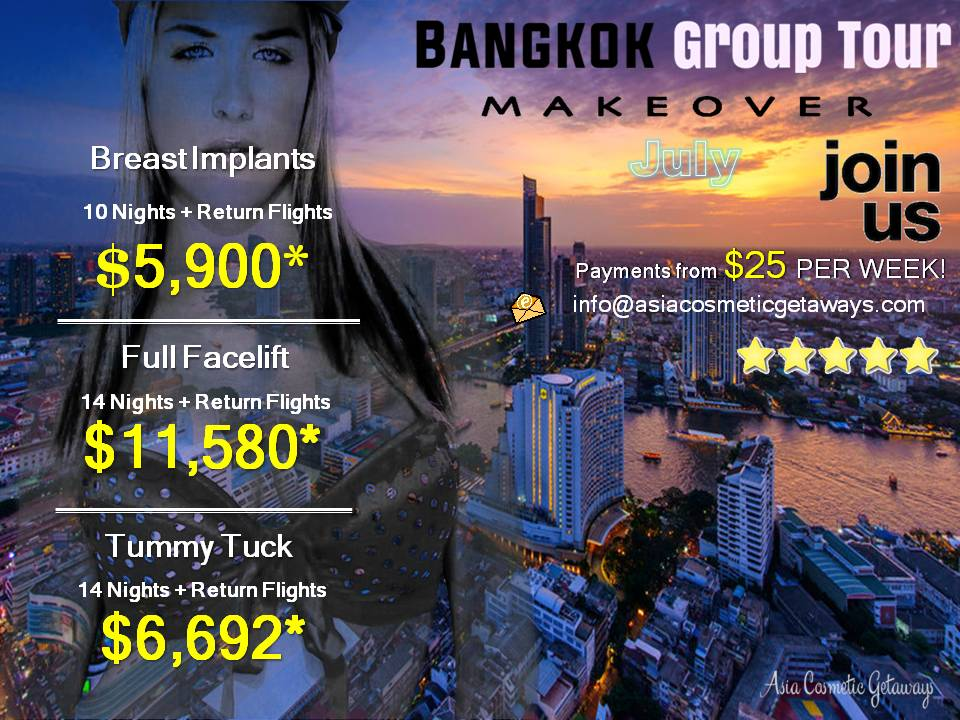 Bangkok July escorted travel join us